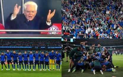 Italia-Inghilterra: le FOTO della finale