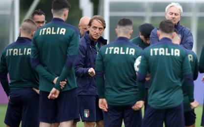 Conferme per Mancini, un dubbio per Southgate