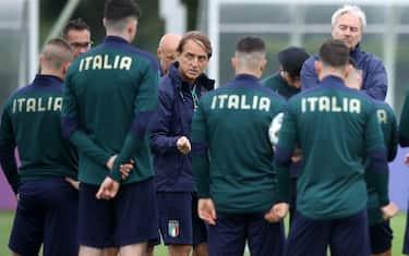 Italia allenamento Mancini