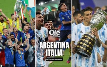 Sfida Italia-Argentina? La proposta da Olé