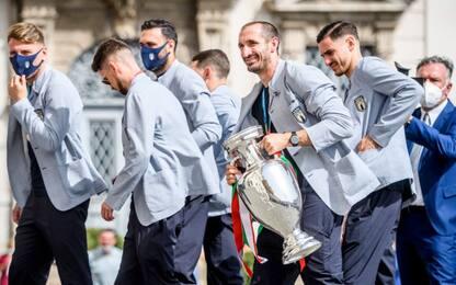 Festa, cori e felicità: il giorno dopo dell'Italia