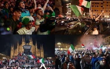 italia campiona festa piazza combo