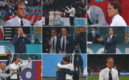 La finale di Mancini: così l'ha vissuta il Ct