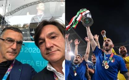 Caressa-Bergomi, il meglio del commento Euro 2020