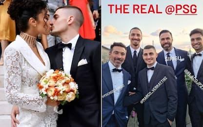 """Verratti e Jessica sposi: nozze """"magiche"""" a Paris!"""