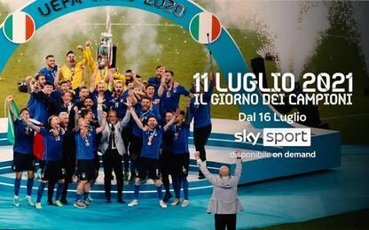 Italia campione d'Europa, su Sky due speciali