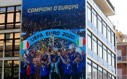 Italia, nuovo look per la sede della FIGC
