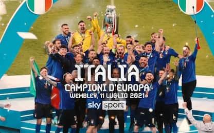 Italia sul tetto d'Europa, è passato un mese