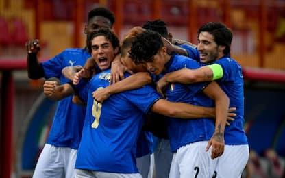 Italia U21, Montenegro battuto 1-0: decide Colombo
