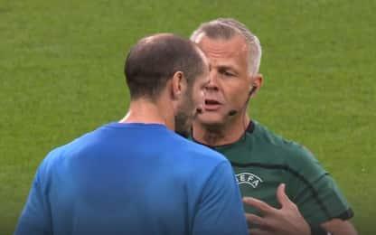 """Arbitro Kuipers: """"Quando dissi a Chiellini di..."""""""