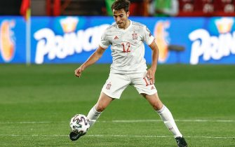 Eric Garcia of Spain  during the Qatar 2022 World Cup, qualifiyng round, group B, date 1 between Spain and Greece played at Nuevo Los Carmenes Stadium on March 25, 2021 in Granada, Spain. (Photo by Antonio Pozo / PRESSINPHOTO)