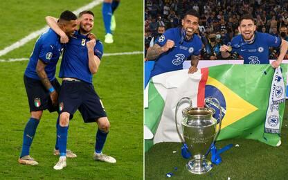 """Champions+Euro, Emerson e Jorginho sono nel """"club"""""""