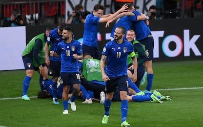 La classifica all time degli Europei: Italia 2^