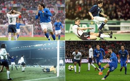 Italiani in gol a Wembley: ci sono riusciti in 25