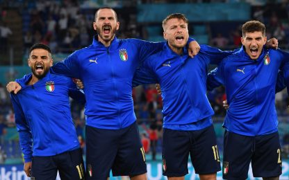 Più di un inno, la passione dell'Italia in 11 foto