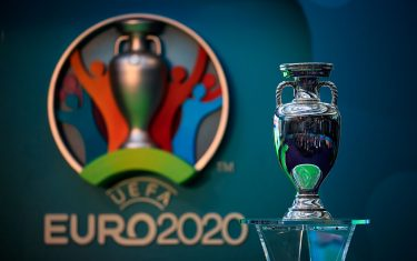 File photo dated 21-09-2016 of The UEFA EURO 2020 trophy on display during the UEFA EURO 2020 launch event at London City Hall.