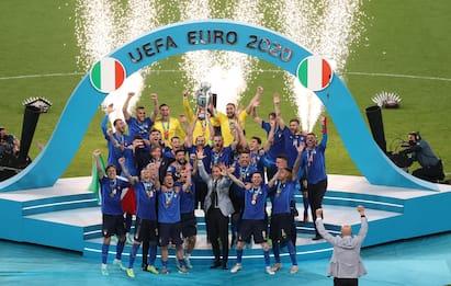 Italia campione d'Europa: Inghilterra ko ai rigori