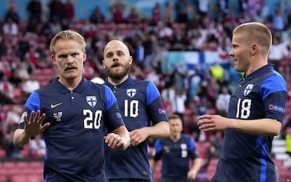 La Danimarca perde dopo la paura: 1-0 Finlandia