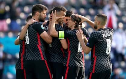 Perisic salva la Croazia, 1-1 contro la Rep. Ceca