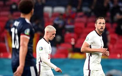 L'Inghilterra rinvia gli ottavi: 0-0 con la Scozia