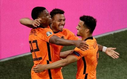L'Olanda agli ottavi da prima: Austria battuta 2-0
