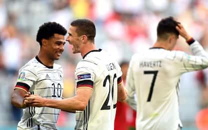 Gosens rilancia la Germania, Portogallo ko 4-2