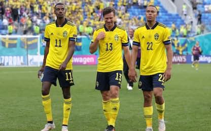 La Svezia vince ed è prima: Slovacchia battuta 1-0