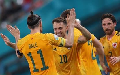 Il Galles vola con Ramsey e Bale: 2-0 alla Turchia