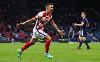3-1 alla Scozia, la Croazia passa come seconda