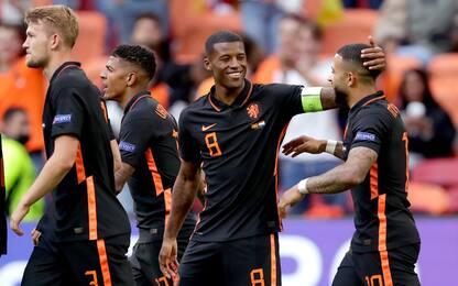 Olanda a punteggio pieno: 3-0 alla Macedonia