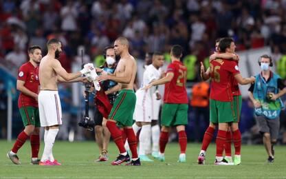 Portogallo-Francia, 2-2 e ottavi per entrambe