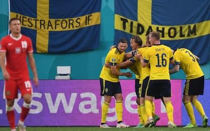 La Svezia passa da prima: 3-2 e Polonia eliminata