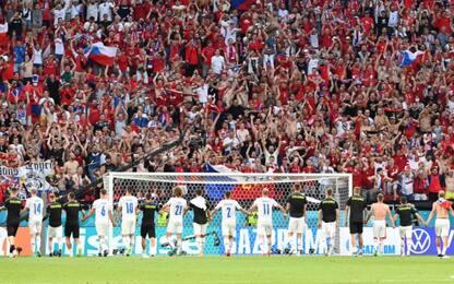 La Repubblica Ceca ai quarti: Olanda battuta 2-0