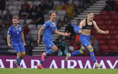 Dovbyk al 120', Svezia ko 2-1: Ucraina ai quarti