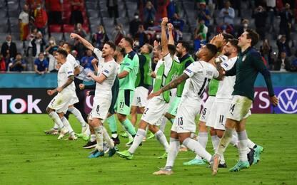 Barella-Insigne, Belgio ko: Italia in semifinale