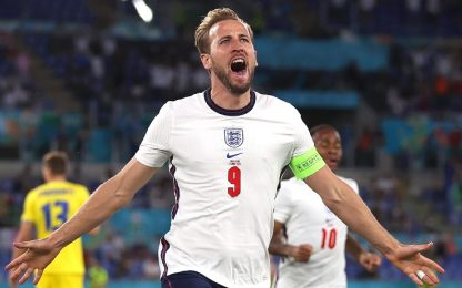 L'Inghilterra vola in semifinale: 4-0 all'Ucraina