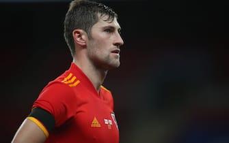 Wales' Ben Davies during the international friendly match at Wembley Stadium, London.