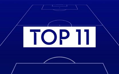 Fantacalcio, la Top 11 della 22^ giornata