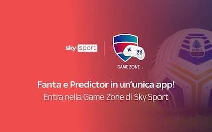 Gamezone Sky, l'app per Superscudetto e Predictor