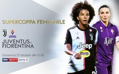 La Supercoppa è su Sky: alle 12.30 Juve-Fiorentina