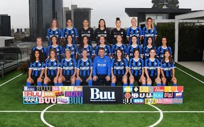 Inter Women: tutte in posa per la foto ufficiale