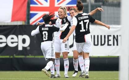 Serie A donne: Milan fermato, Juve sola in testa