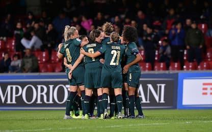 L'Italia femminile travolge 6-0 la Georgia