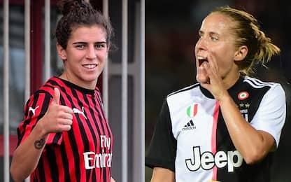 Milan-Juve, è sfida Bergamaschi-Cernoia