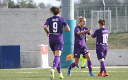 Serie A donne: Viola super, Inter ok. I risultati