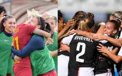 Serie A femminile, calendario e orari 7^ giornata