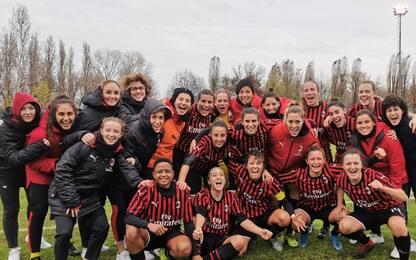 Serie A femminile, Milan in testa: i risultati