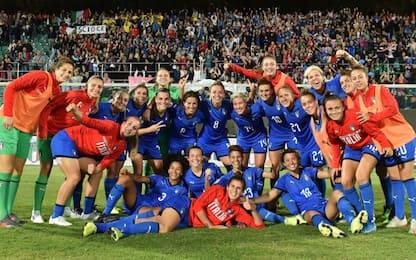 Calcio femminile, Algarve Cup: c'è anche l'Italia