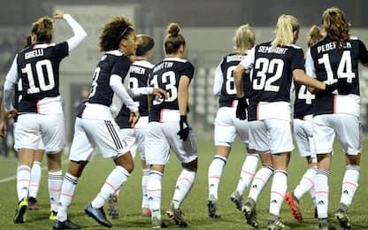Juventus-Fiorentina femminile 1-0: decide Girelli