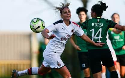 Serie A donne: Milan ko, la Florentia vince al 94'